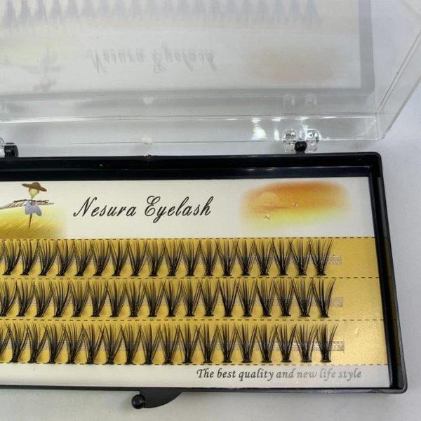Пучки накладных ресниц для визажистов Объем 20Д