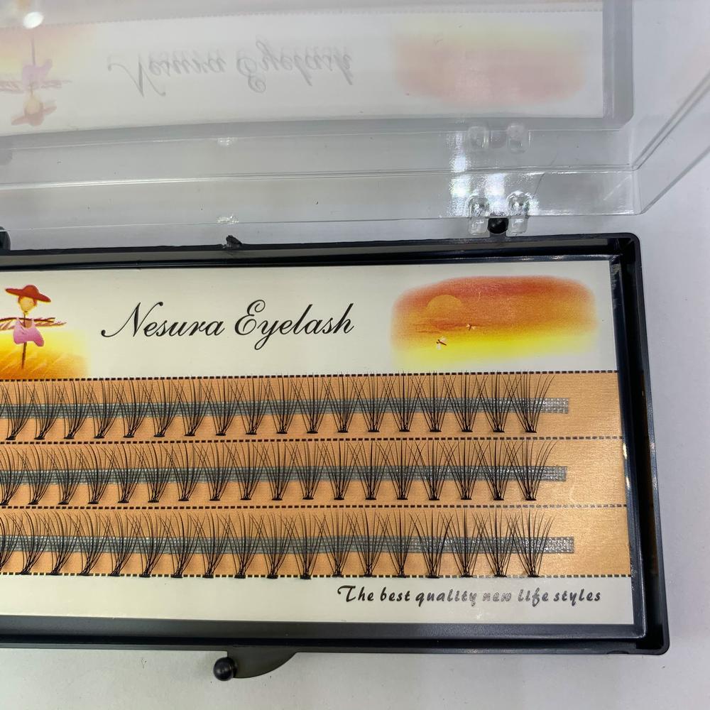 Пучки накладных ресниц для визажистов Объем 10Д