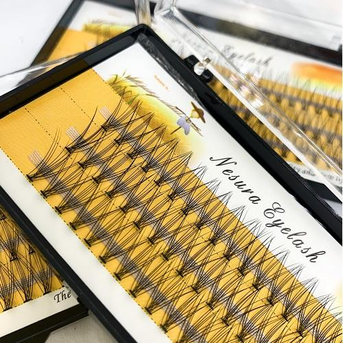 Купить накладные ресницы пучки Nesura